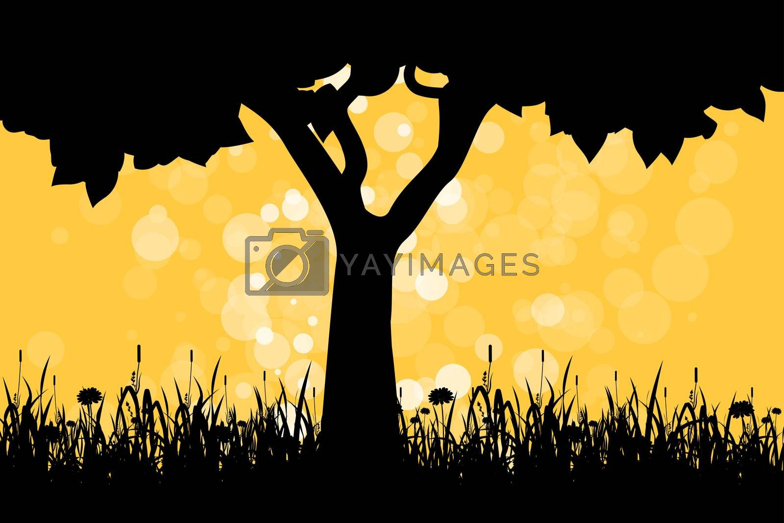Tree Silhouette by WaD