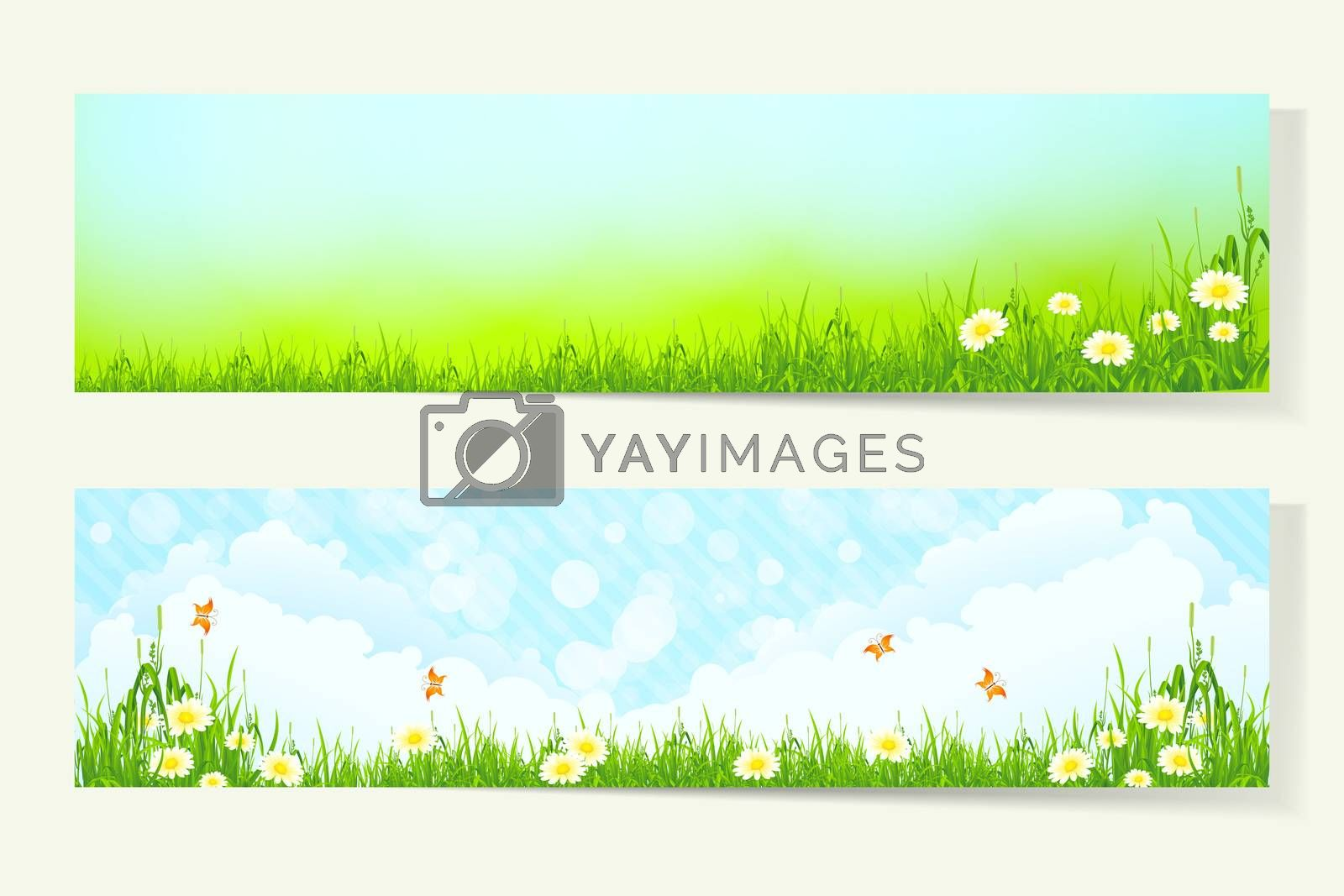 Two Horizontal Banners by WaD
