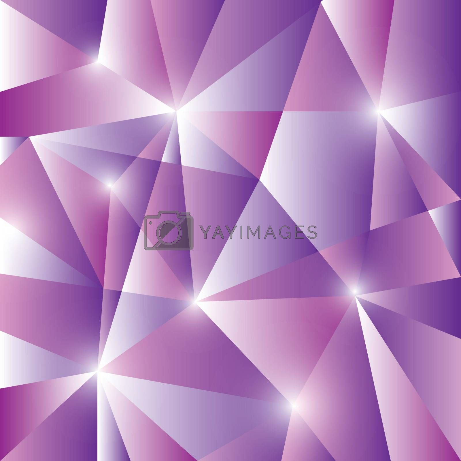Geometric pattern with triangles background, stock vector