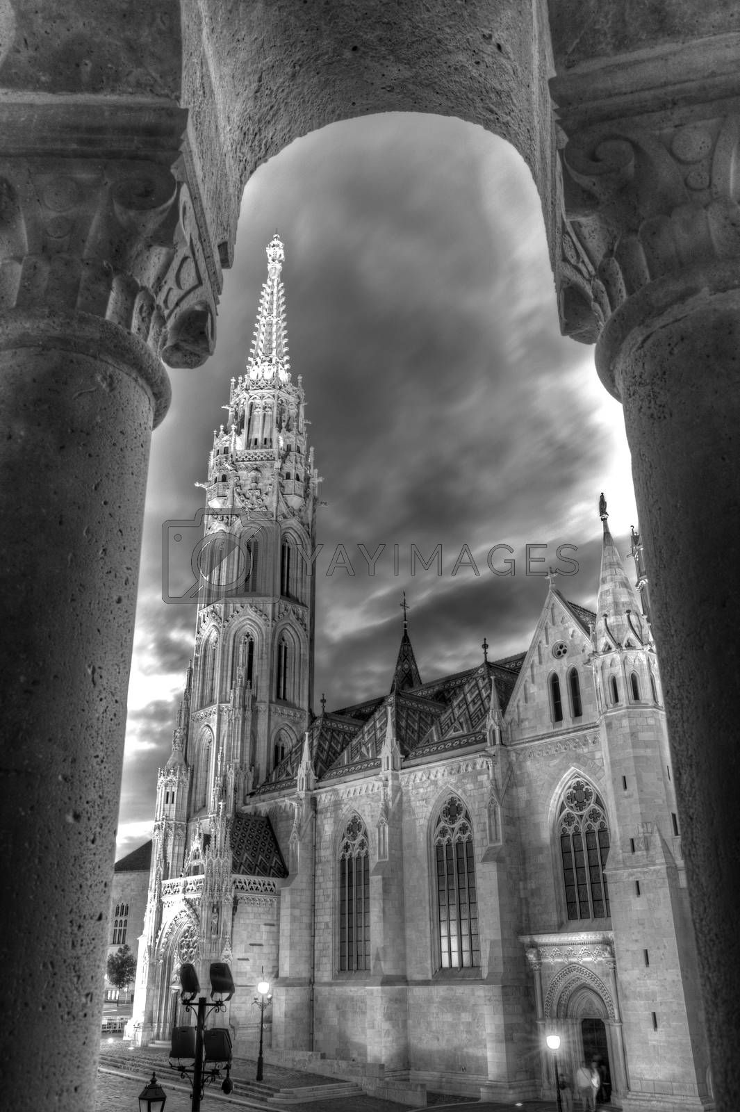 Church of Mathias Rex in Budapest, Hungary