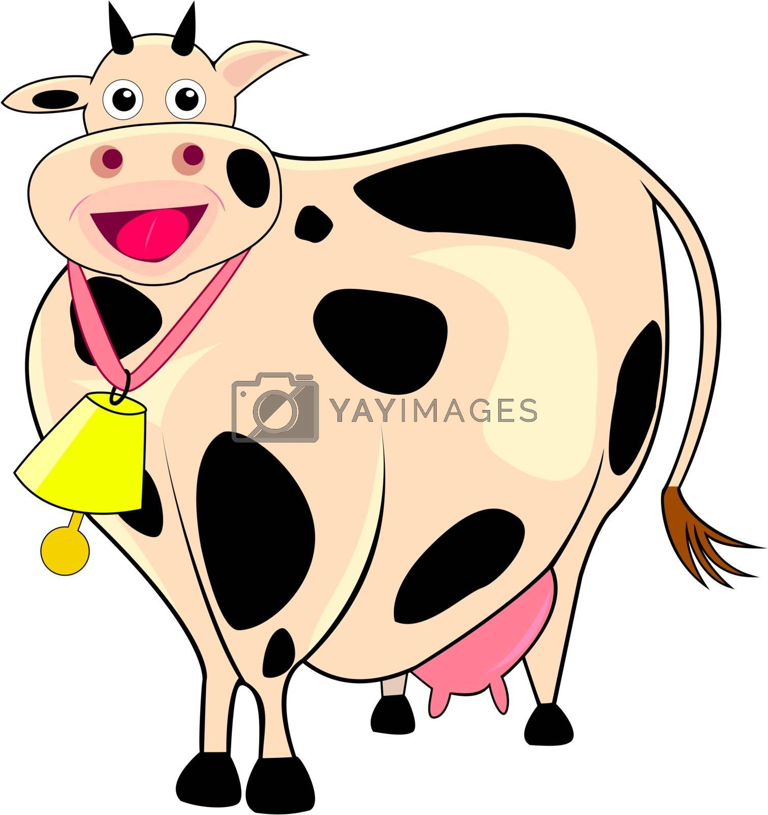 Funny thick cow by liolle