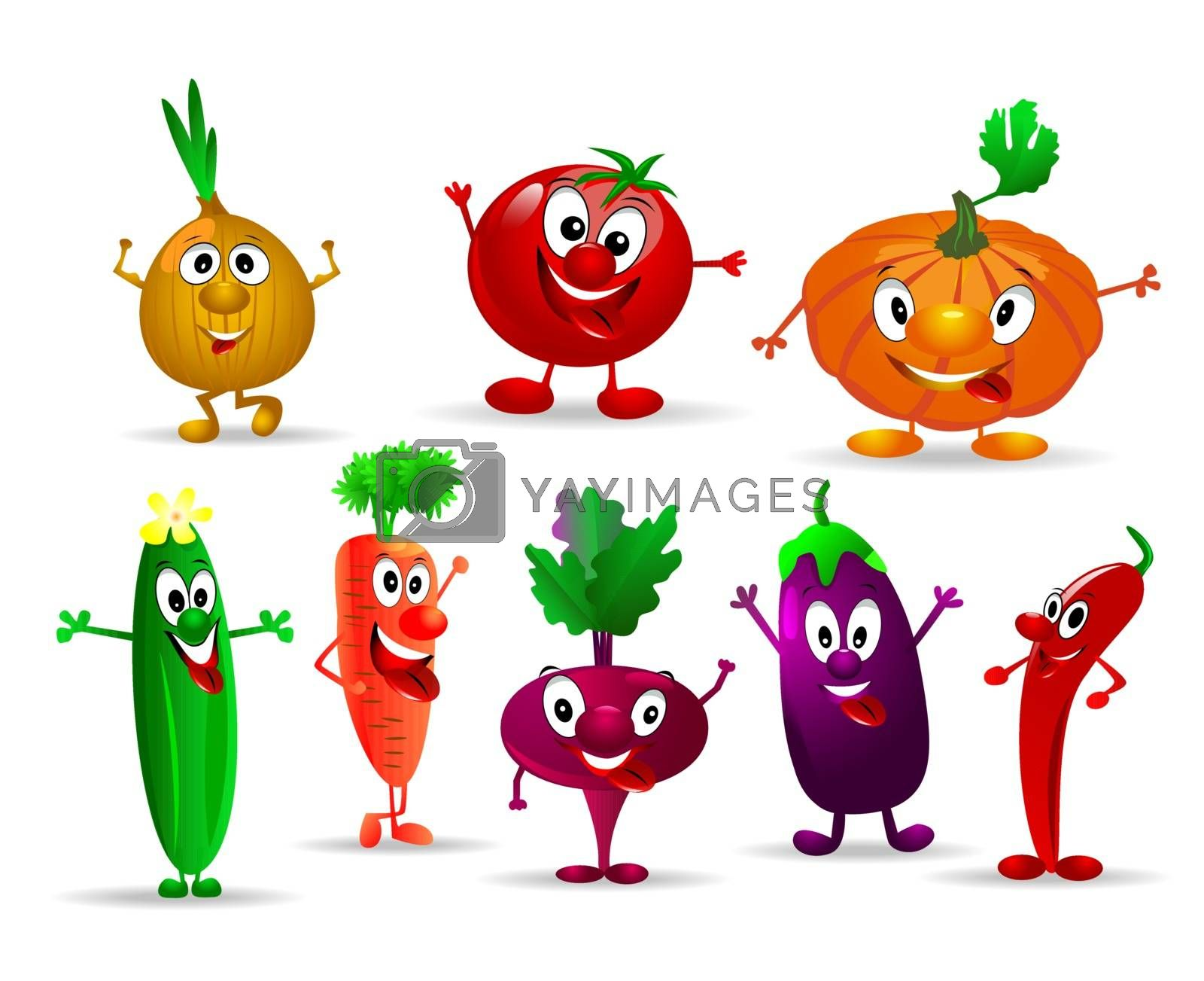 Funny vegetables. by liolle