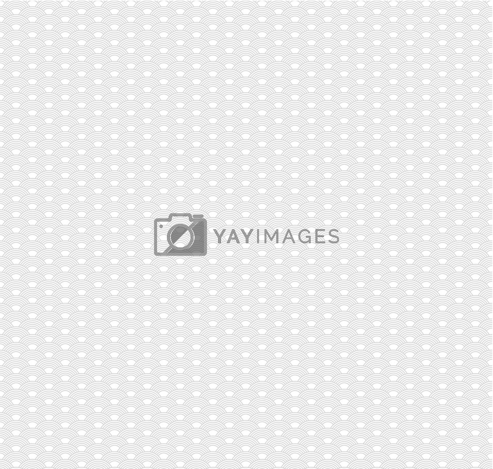 Vector illustration of Geometric seamless pattern background