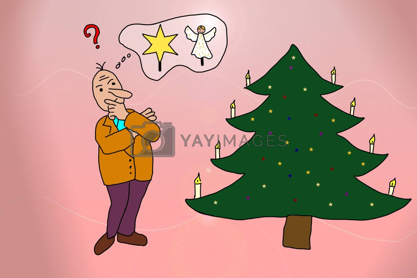 Thinking about treetopper for Christmas tree