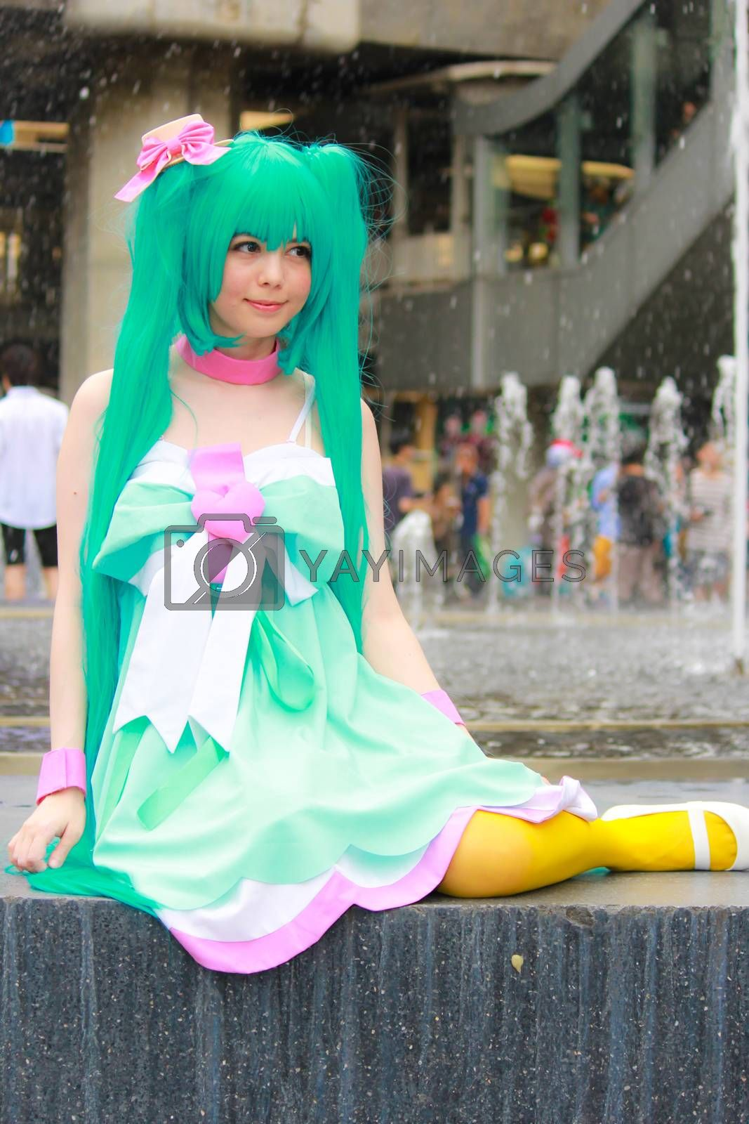 Royalty free image of Cosplay 89 by redthirteen