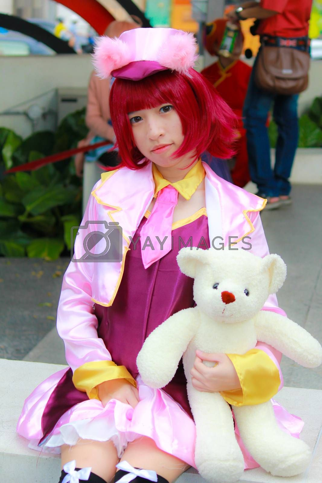 Royalty free image of Cosplay 96 by redthirteen