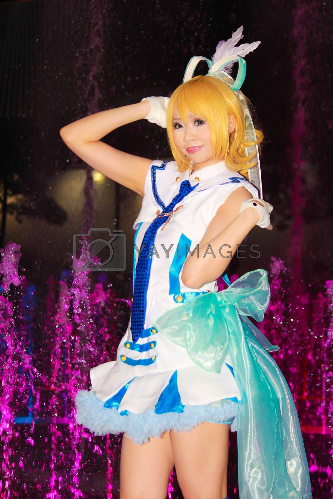 Royalty free image of Cosplay 125 by redthirteen