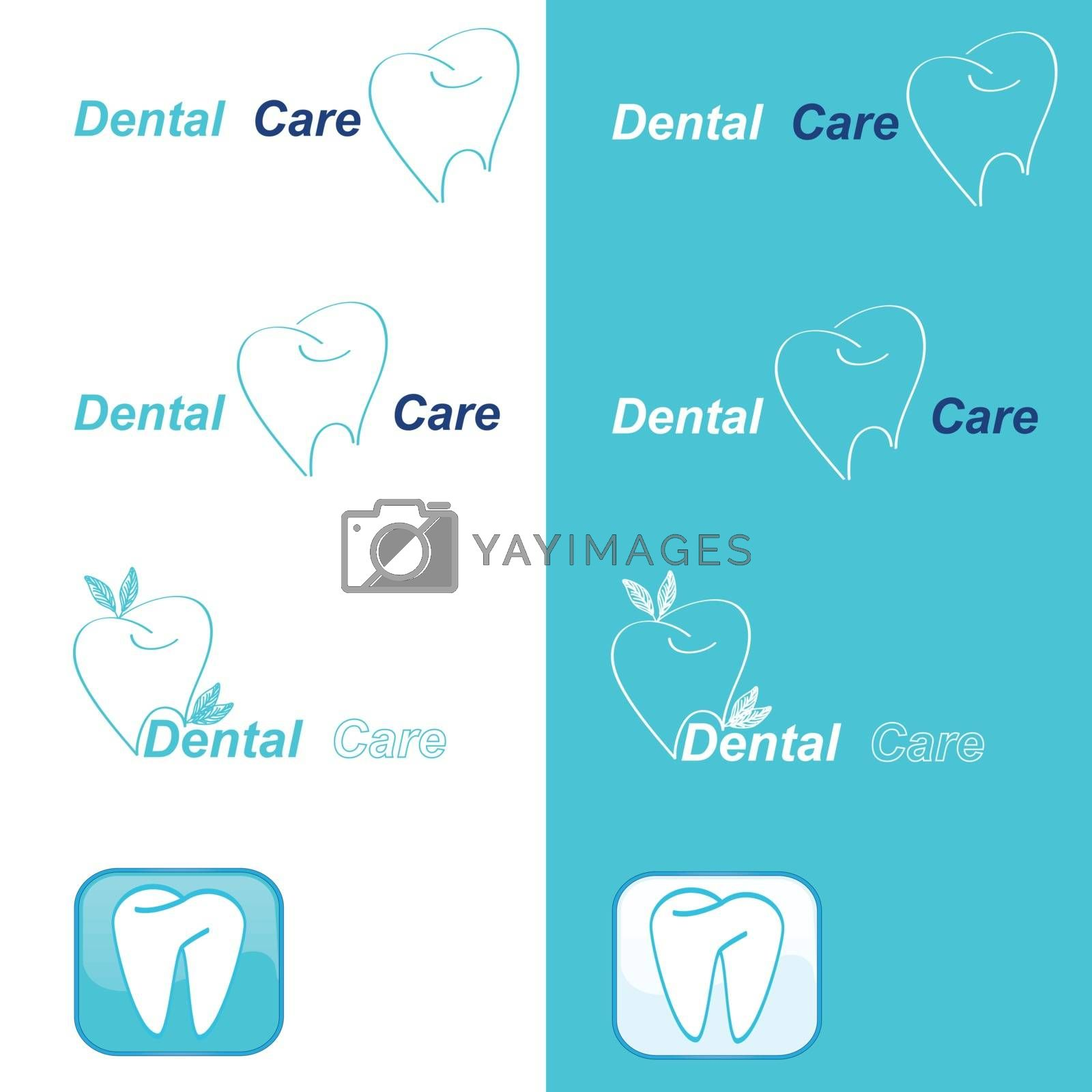 Healthy teeth logo collection. Clean and bright designs. Beautiful color combinations.         Healthy teeth logo collection. Clean and bright designs. Beautiful color combinations.