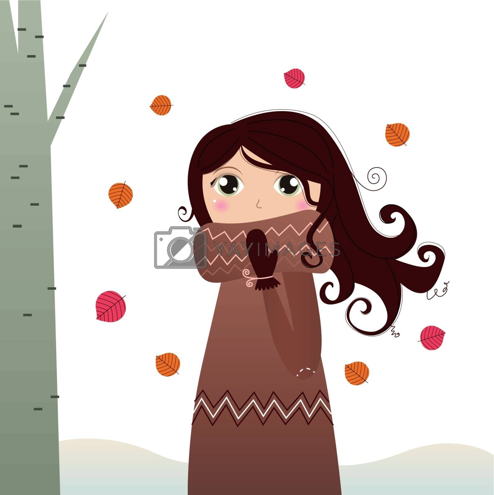New illustration for WINTER. New in shop! by Lordalea