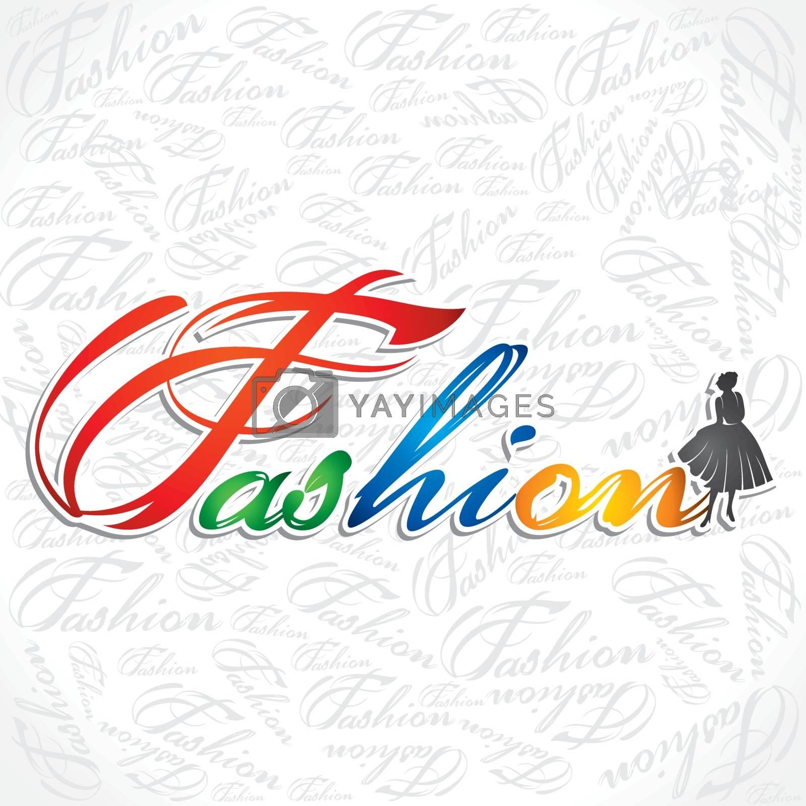 fashion girl stock vecetor