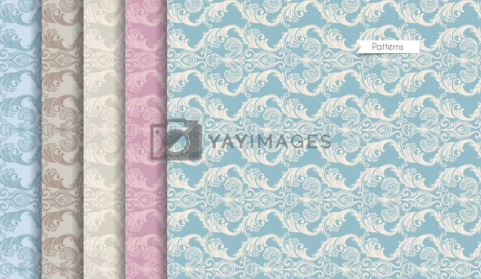 Vector illustration of Color Seamless pattern