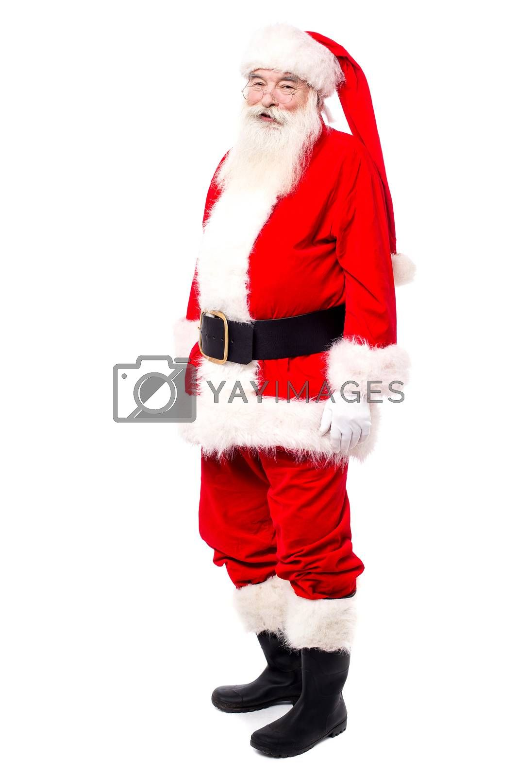 Royalty free image of Merry x-mas to all... by stockyimages