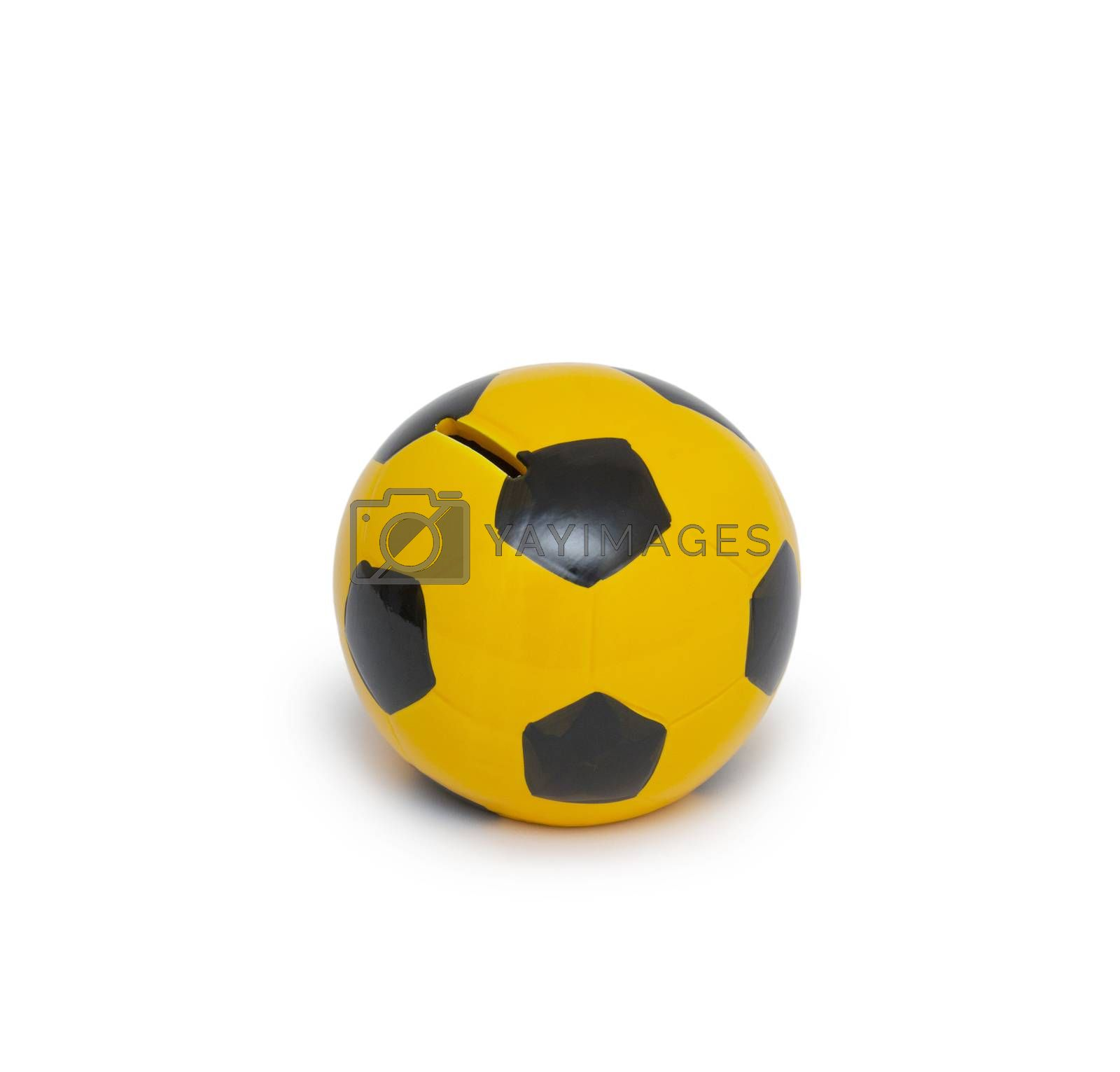 moneybox in the form of the ball by cocoo