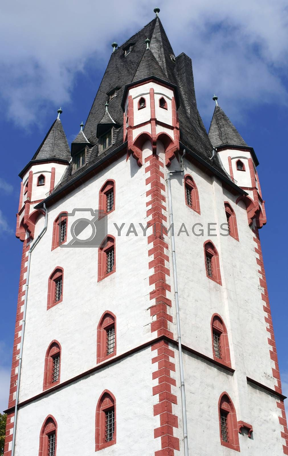 Royalty free image of Iron Tower Mainz by ginton