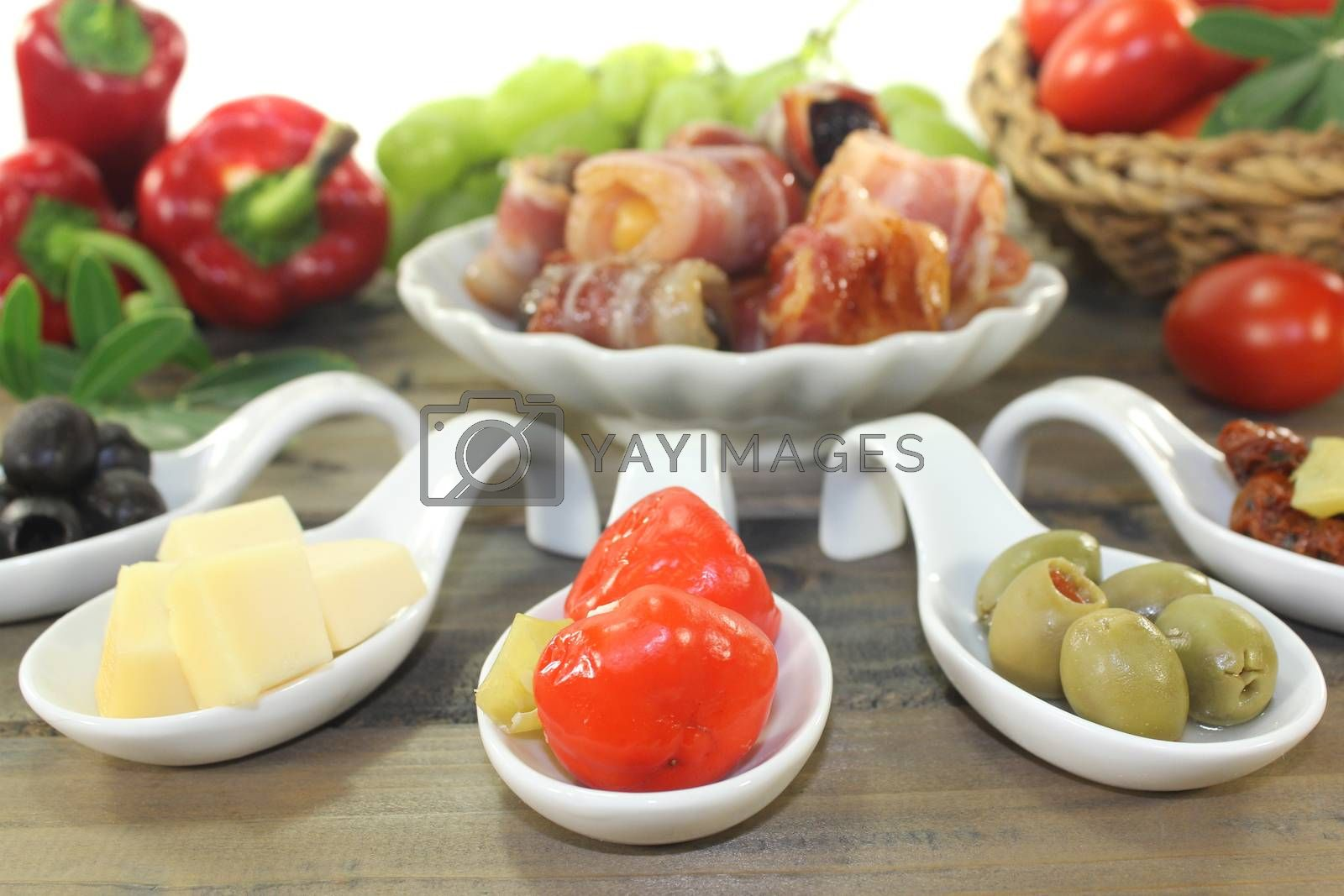 Royalty free image of stuffed Tapas by discovery