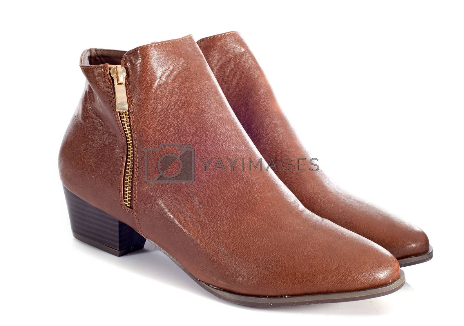 Royalty free image of ankle boots by cynoclub