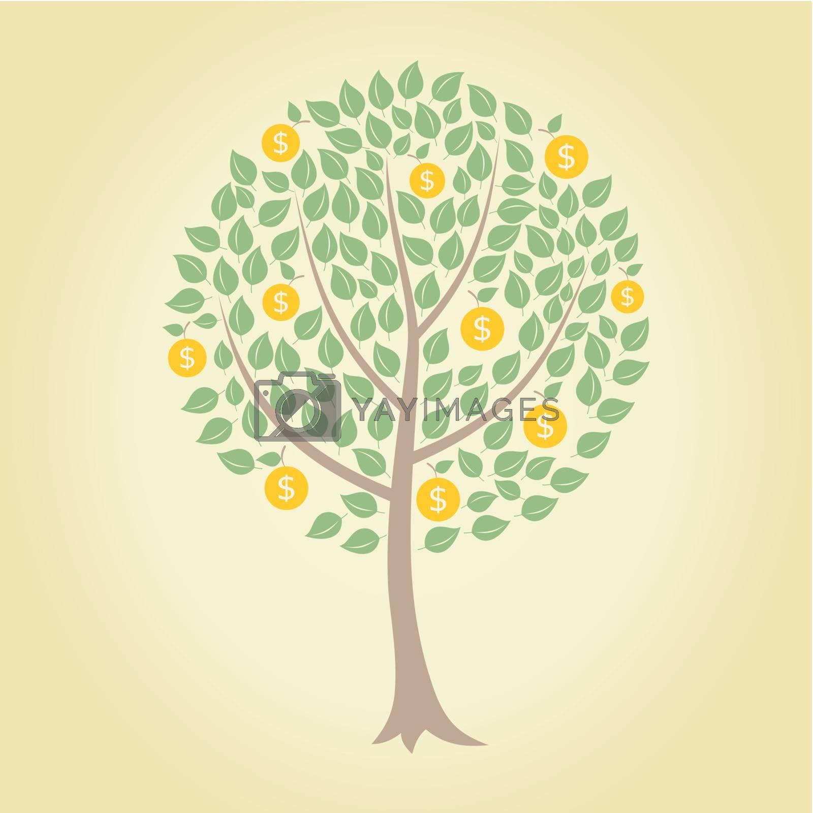 Royalty free image of money tree by aleksander1