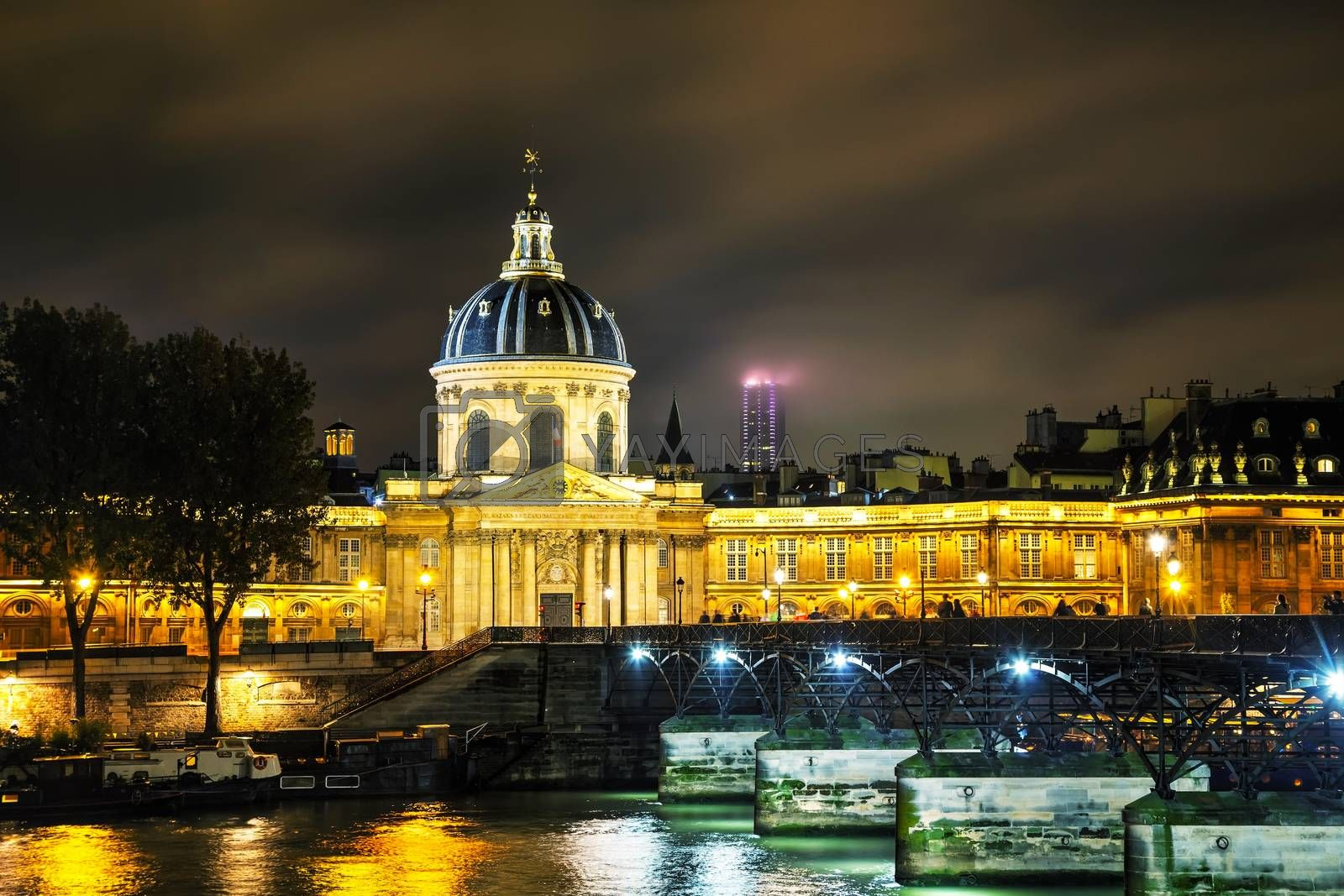 Royalty free image of Institut de France building in Paris, France by AndreyKr