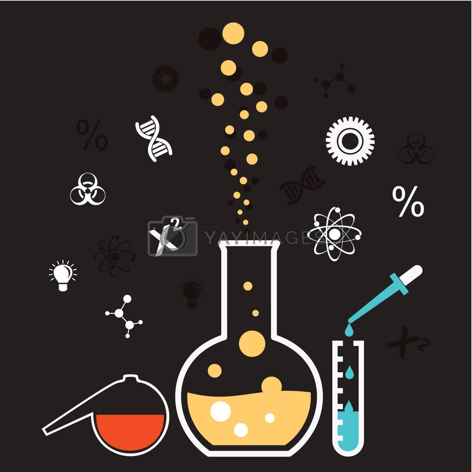 the chemical reaction set bulb