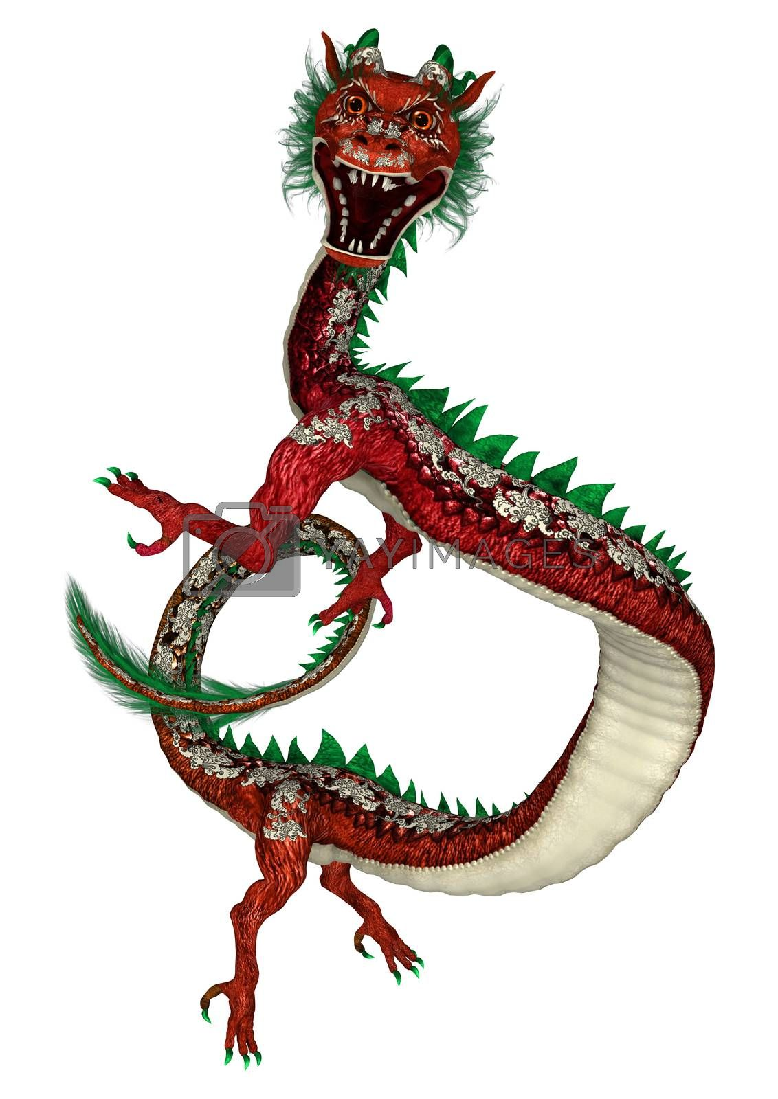 Royalty free image of Eastern Dragon by Vac