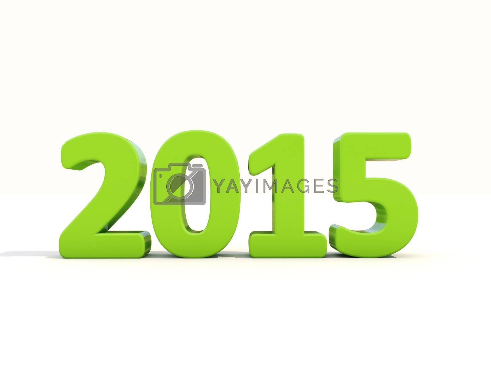 Royalty free image of New 2015 Year by Supertooper