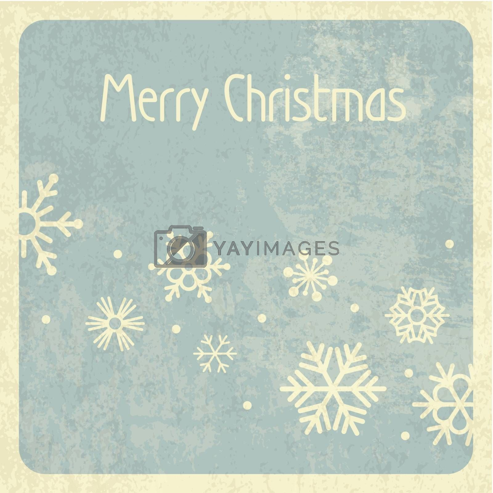 Royalty free image of Merry Christmas Retro Design by pashabo