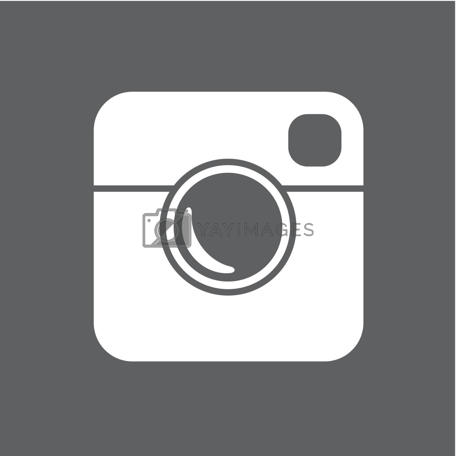 Royalty free image of Simple Hipster Photo Icon by pashabo