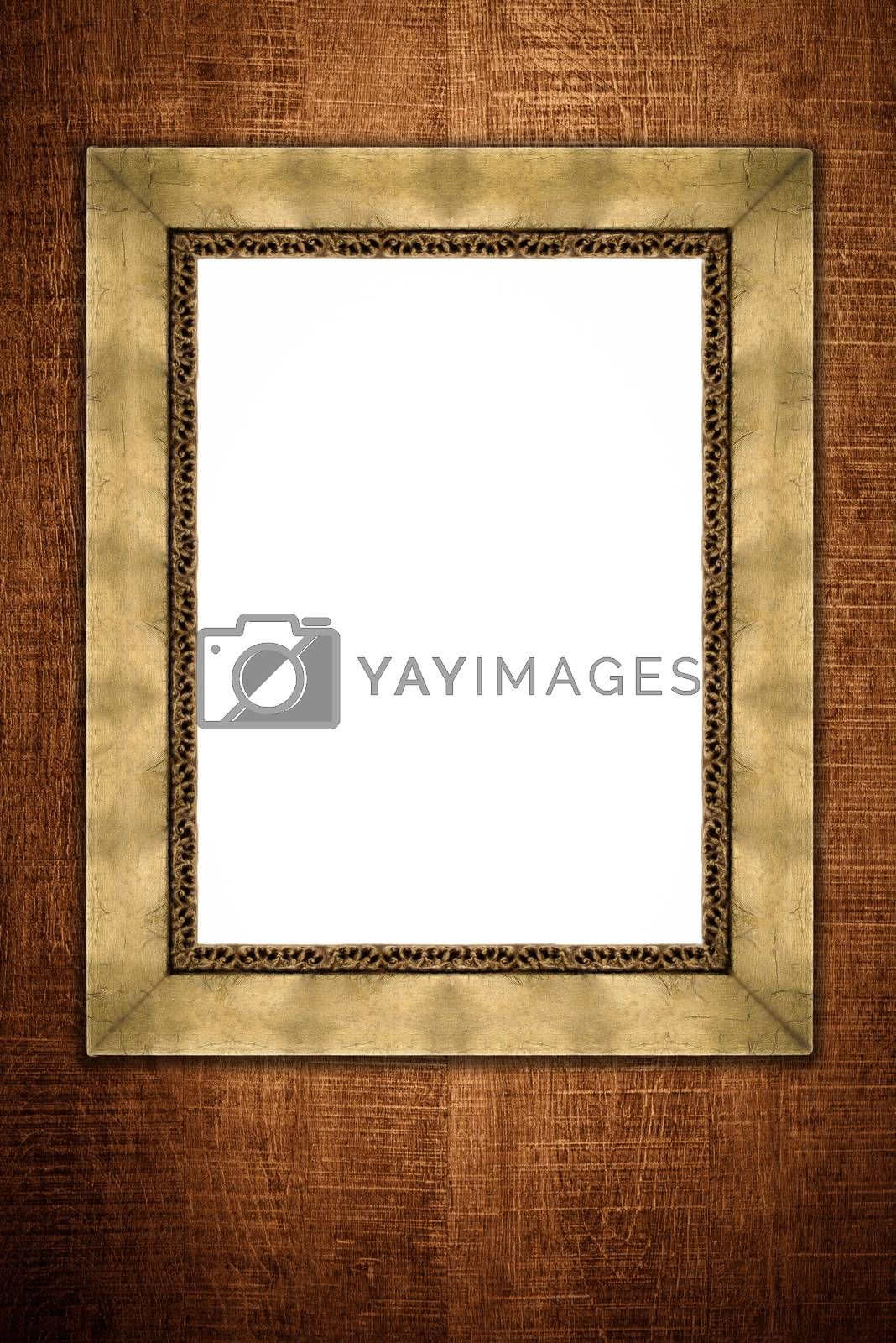 Royalty free image of Old picture frame by homydesign