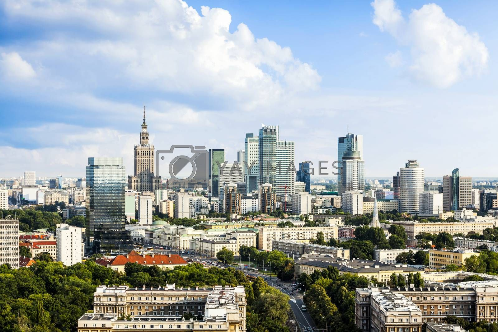 Royalty free image of Warsaw by filipw