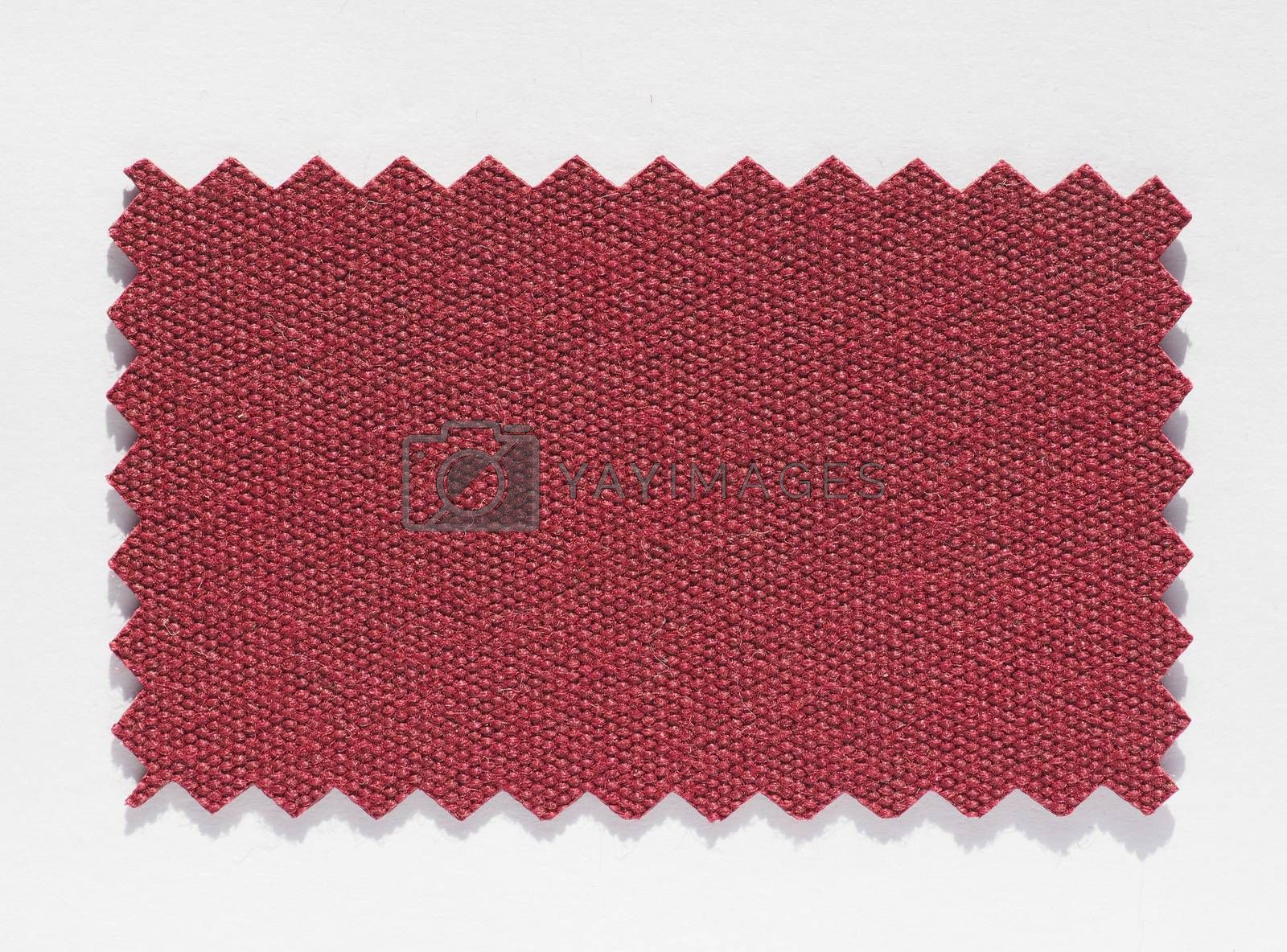 Royalty free image of Fabric swatch by claudiodivizia