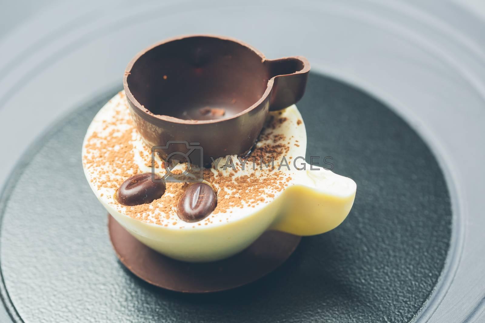 Royalty free image of Tiramisu Dessert by sarymsakov