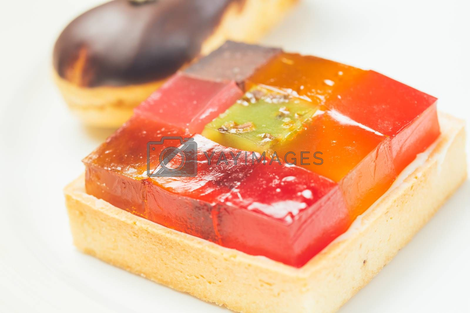 Royalty free image of Colorful jelly by sarymsakov