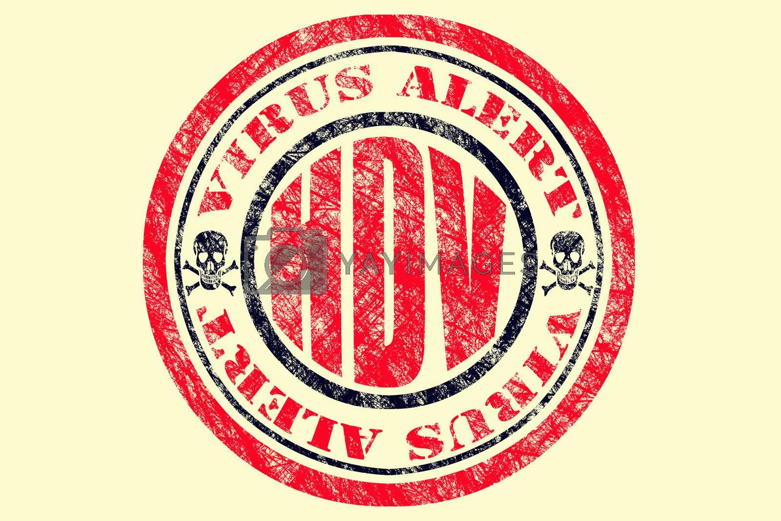 HDV Virus Alert Concept
