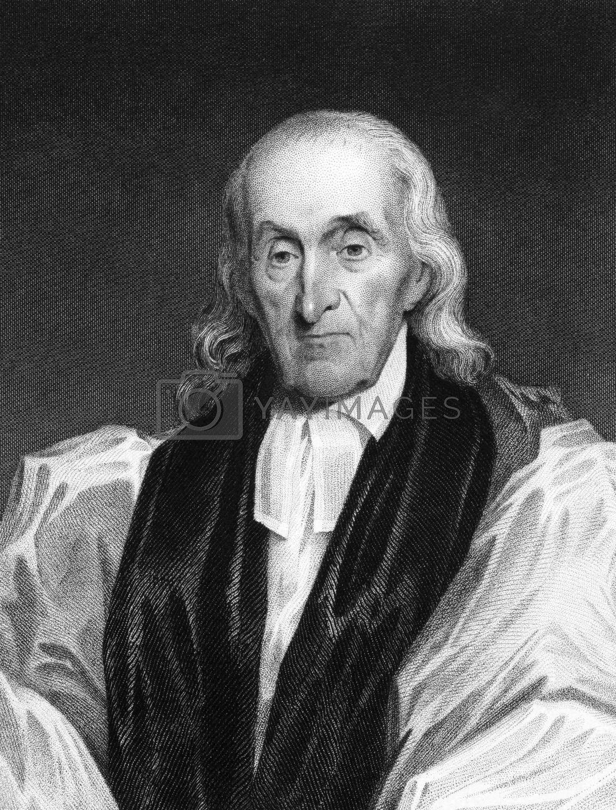 William White (1748-1836) on engraving from 1834. Bishop of Pennsylvania. Engraved by T.B Welch and published in ''National Portrait Gallery of Distinguished Americans'',USA,1834.