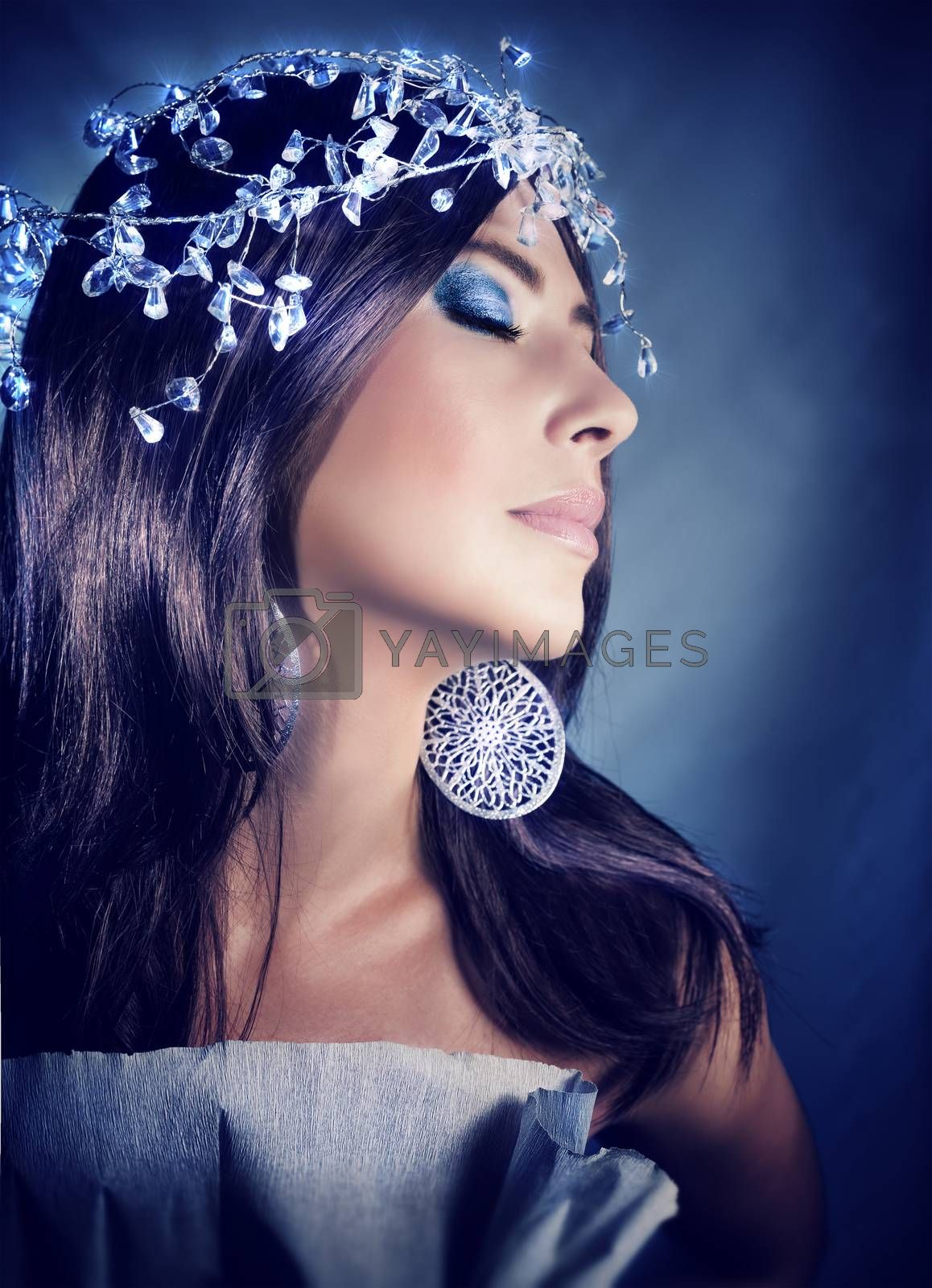 Fashion model portrait by Anna_Omelchenko