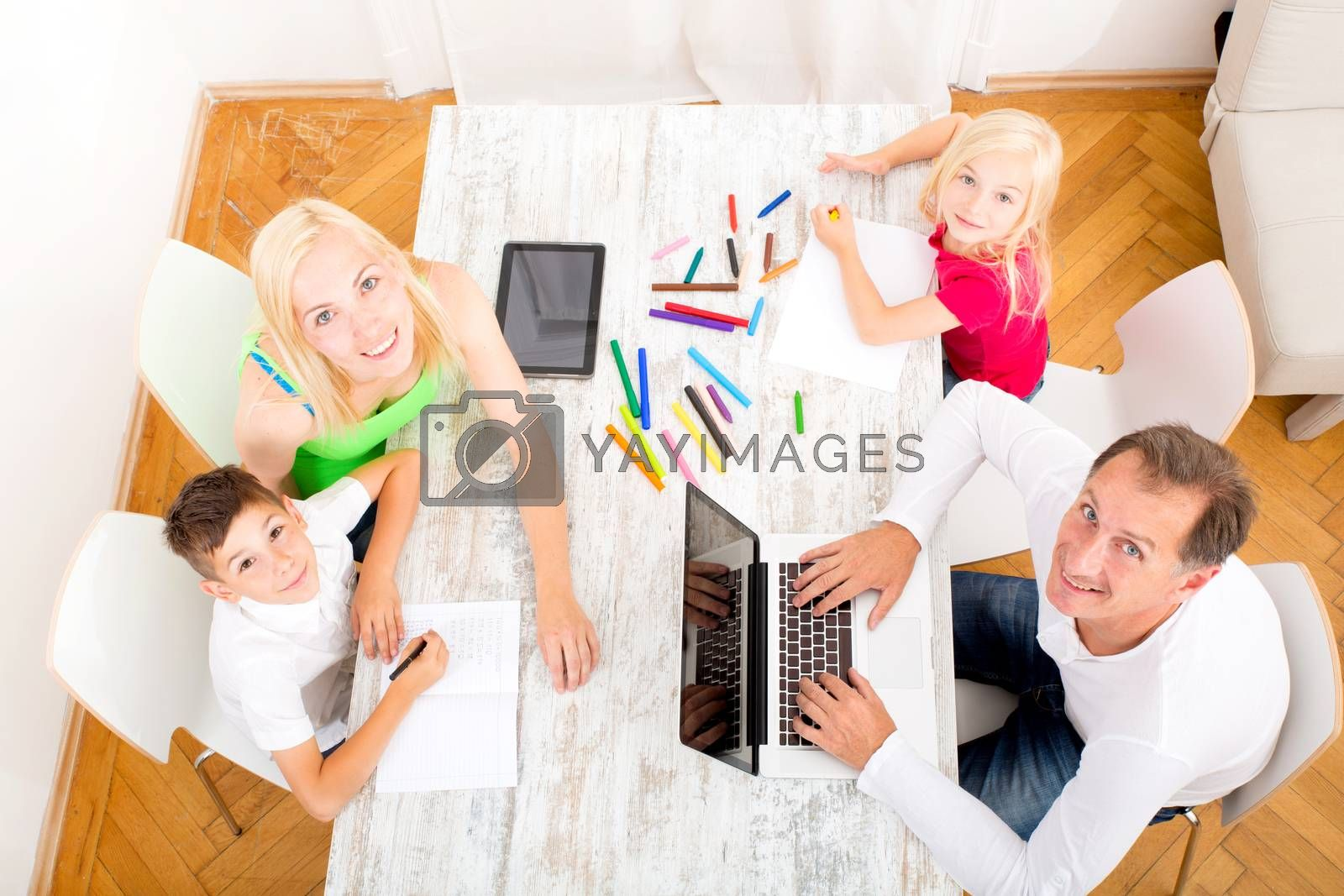 Family at home by Spectral
