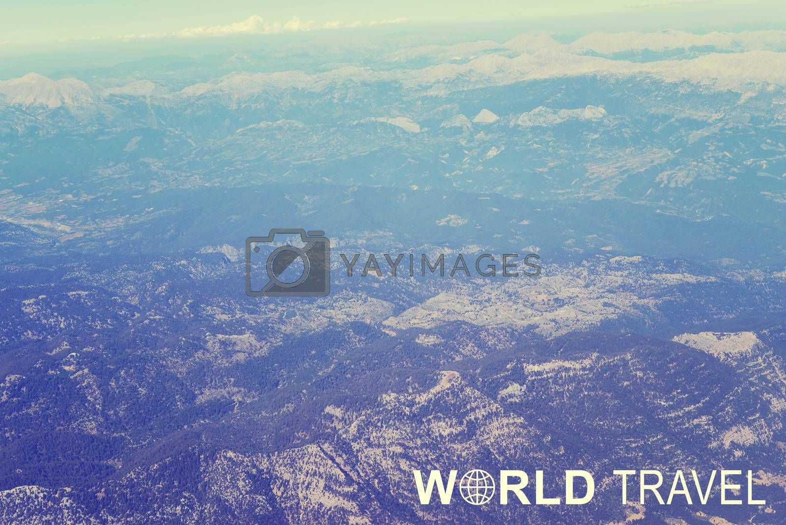 World Travel header by cherezoff