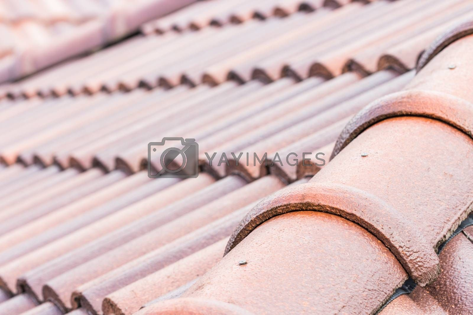 close up construction roof
