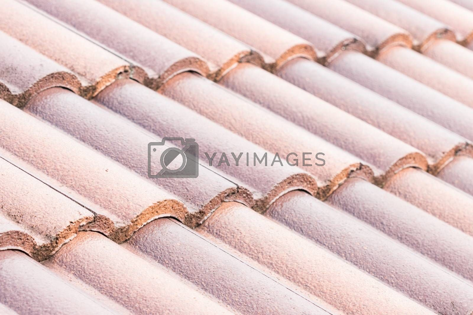 close up construction roof of building