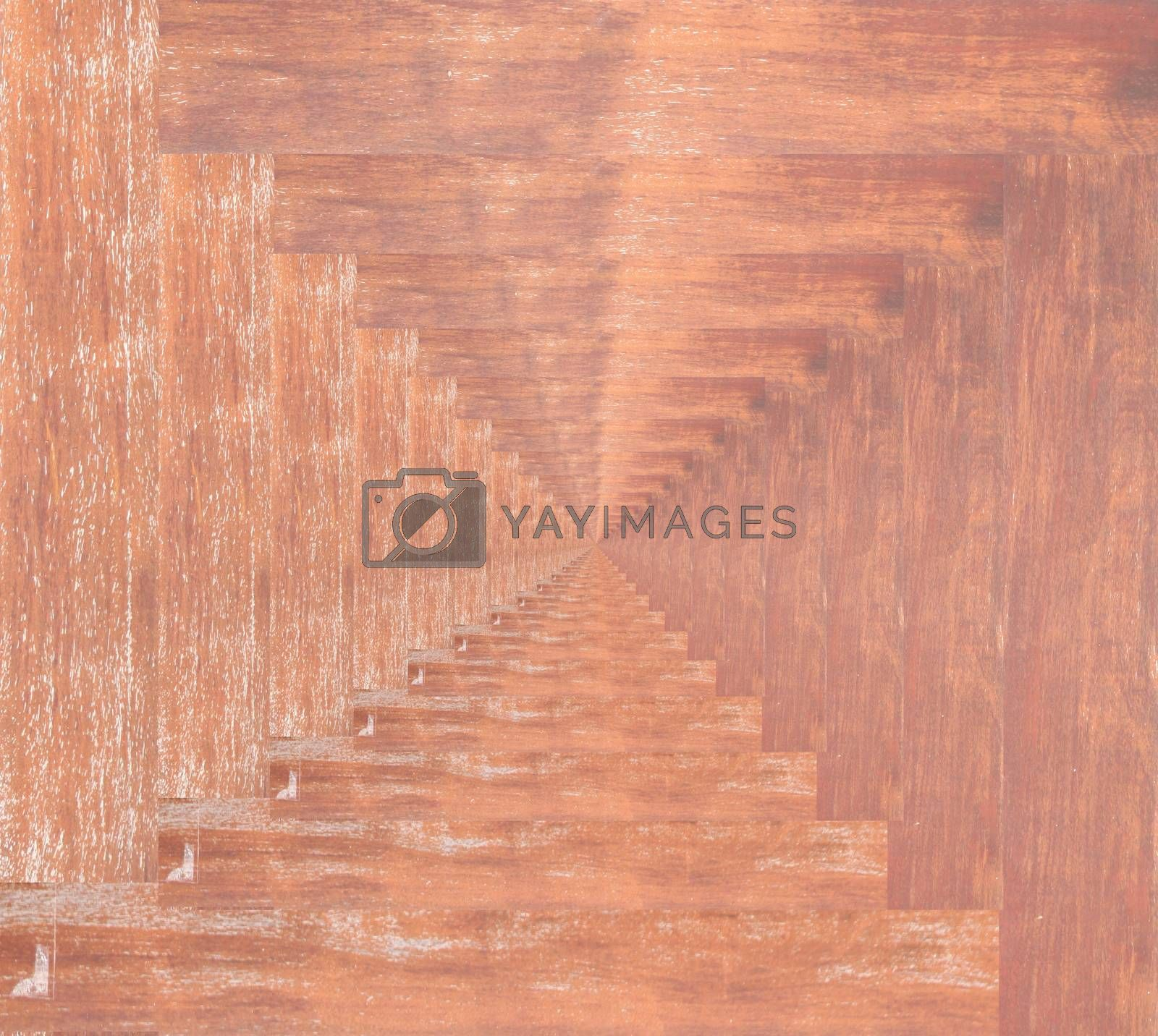 Texture of old wooden planks for background.