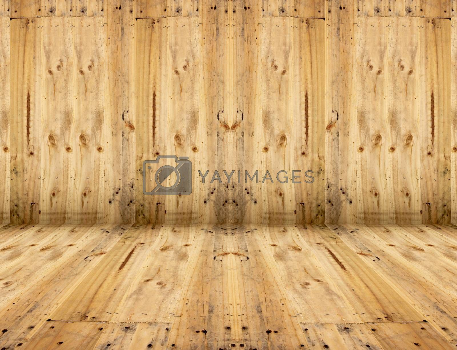 Texture of old wooden planks. by meepoohyaphoto