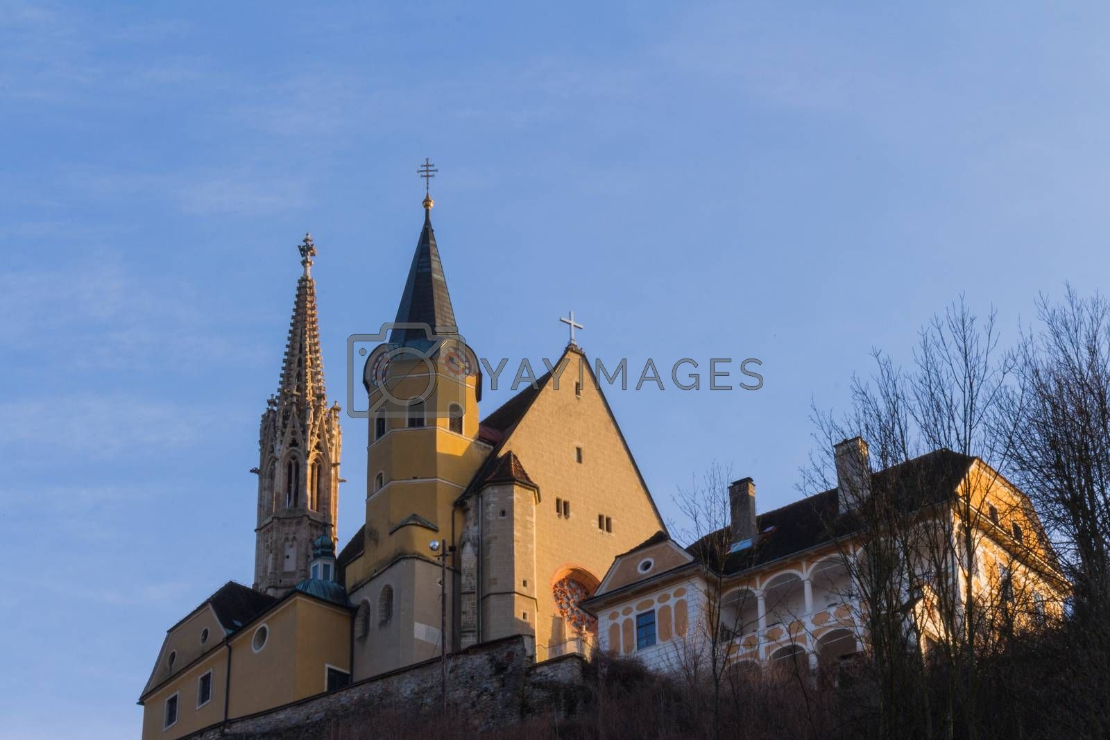 The pilgrimage church of Maria Strassengel is a Catholic parish and pilgrimage church in the village of Jews-Strassengel in Styria