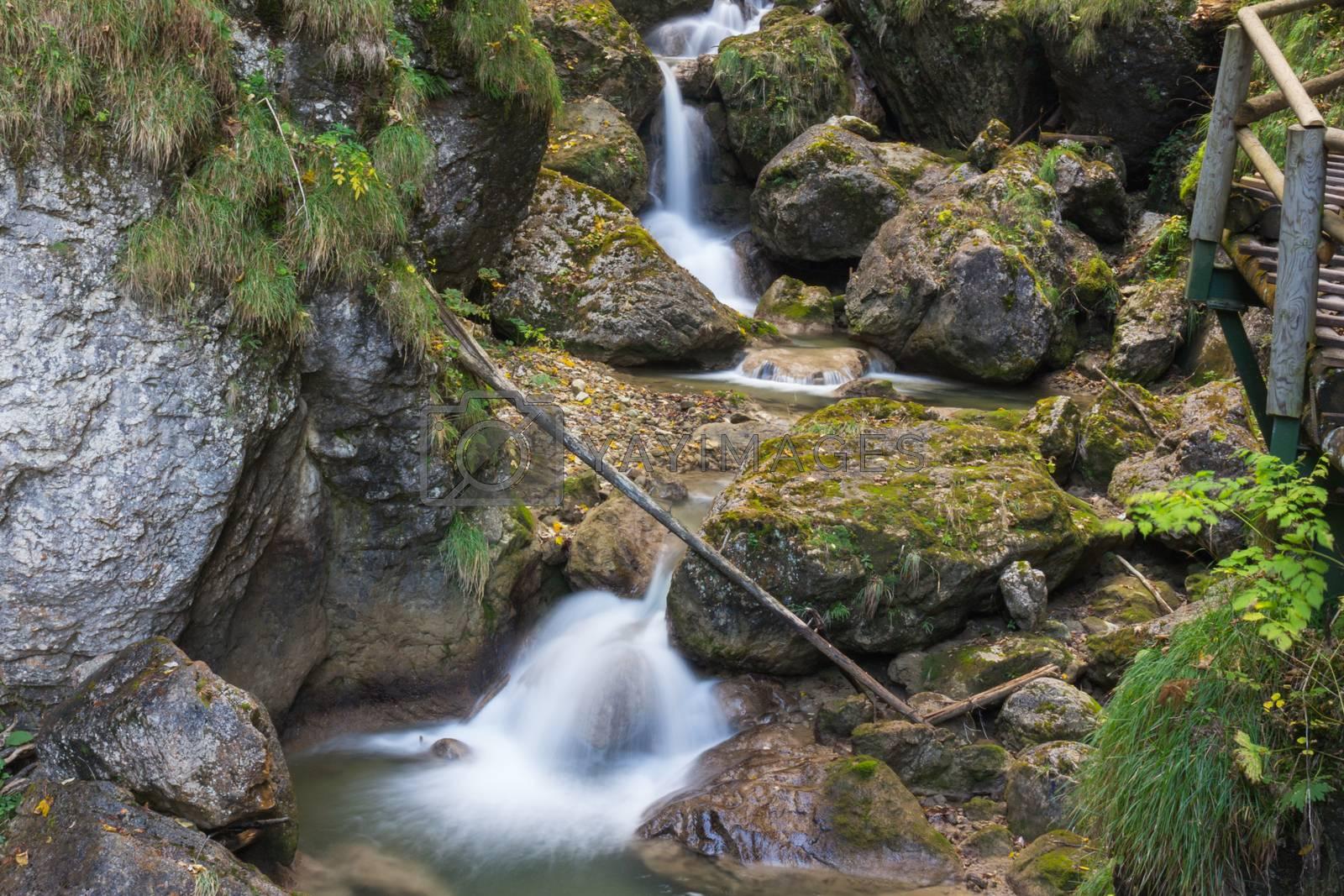 Waterfall  by Robert Boss