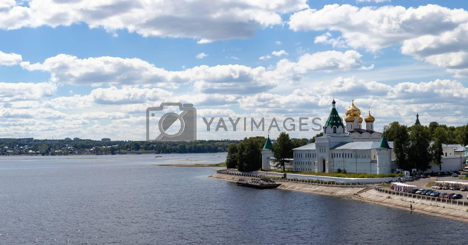 Kind on the Ipatevsky monastery, city Kostroma,Russia