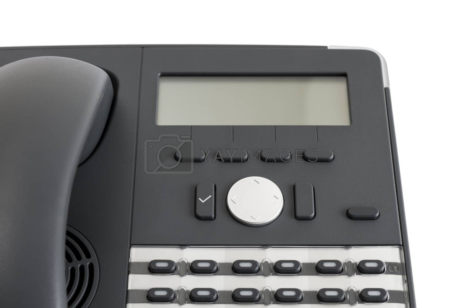 Royalty free image of part of modern business phone by gewoldi