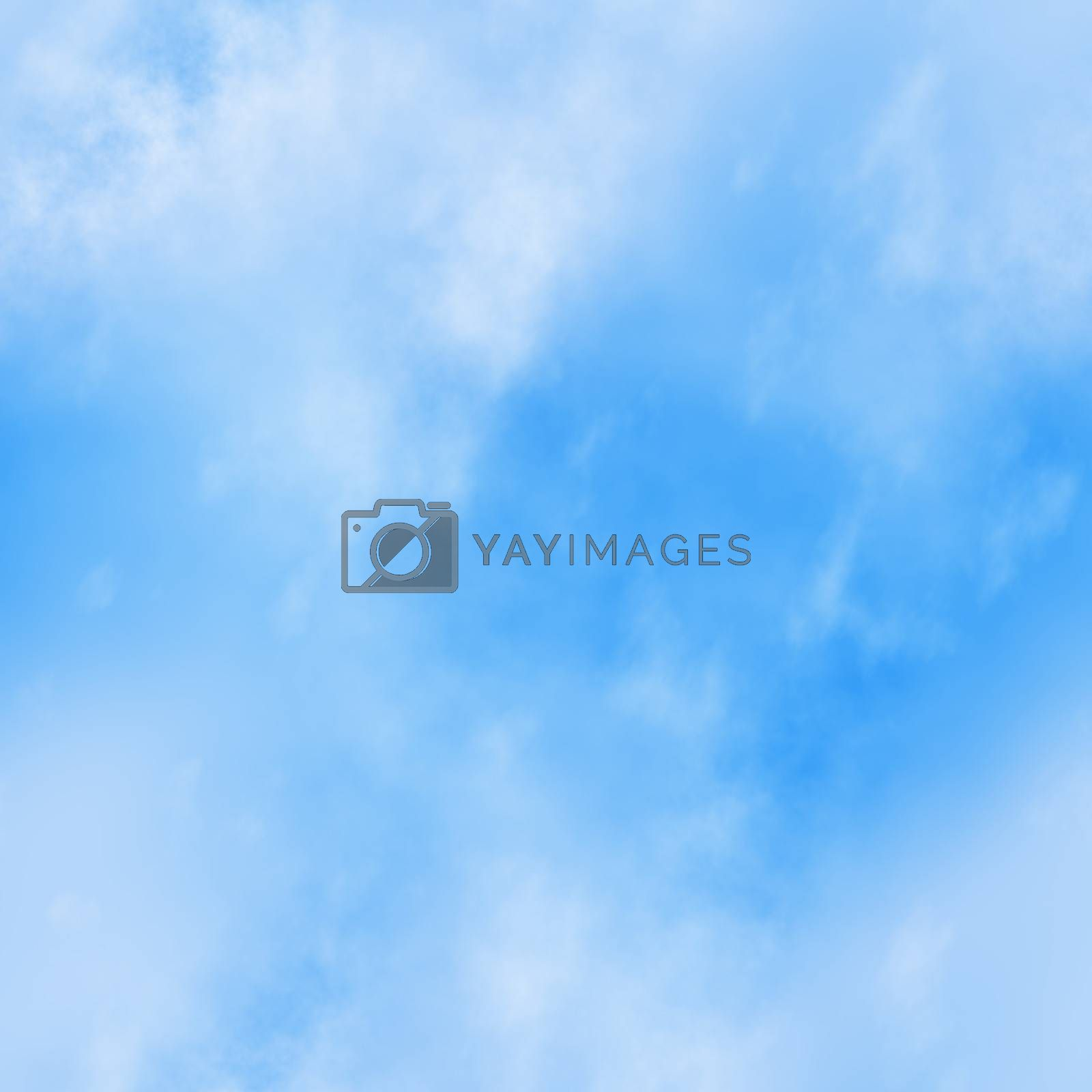 Seamless Blue Sky Background by graficallyminded