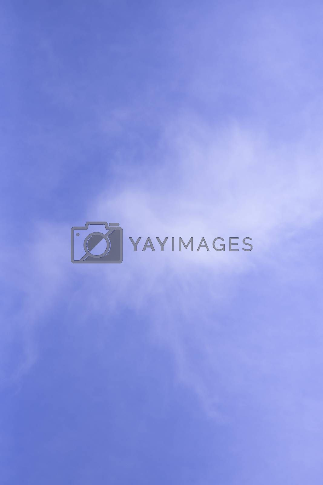Beautiful sky with white clouds.