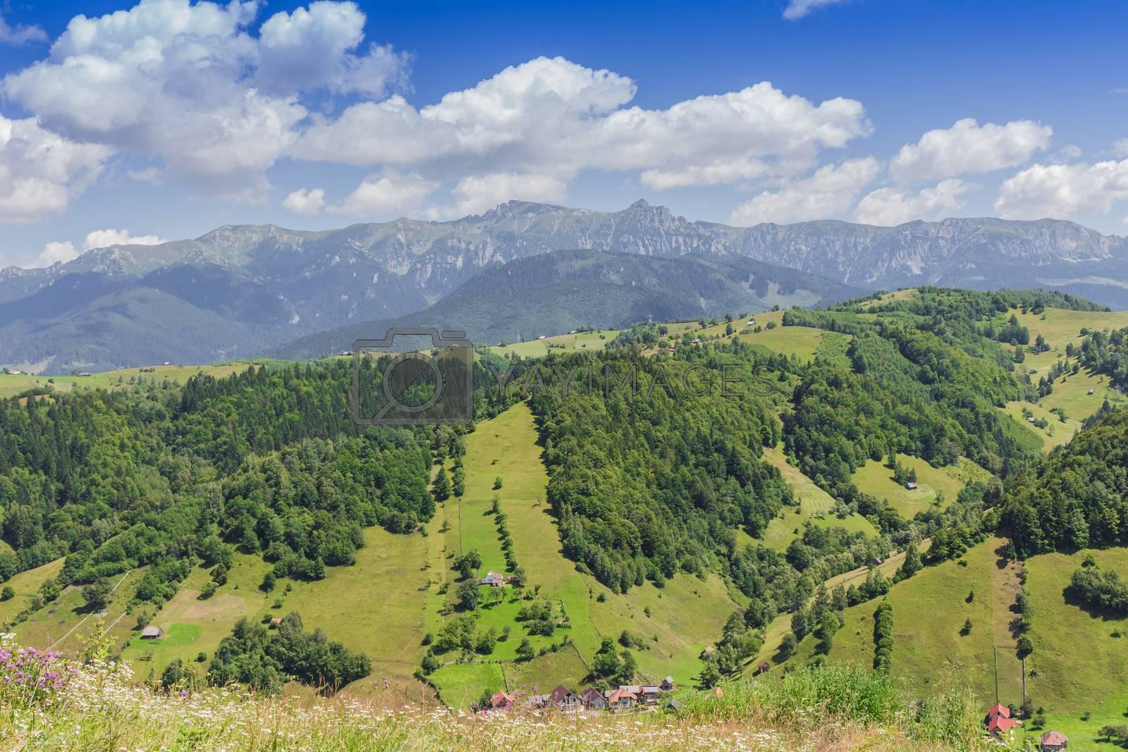 Bran Valley Transylvania by Robert Boss