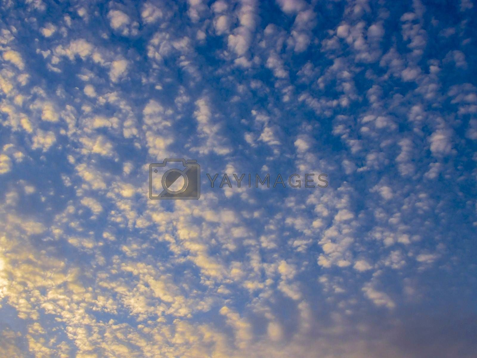 Bright Sunset clouds