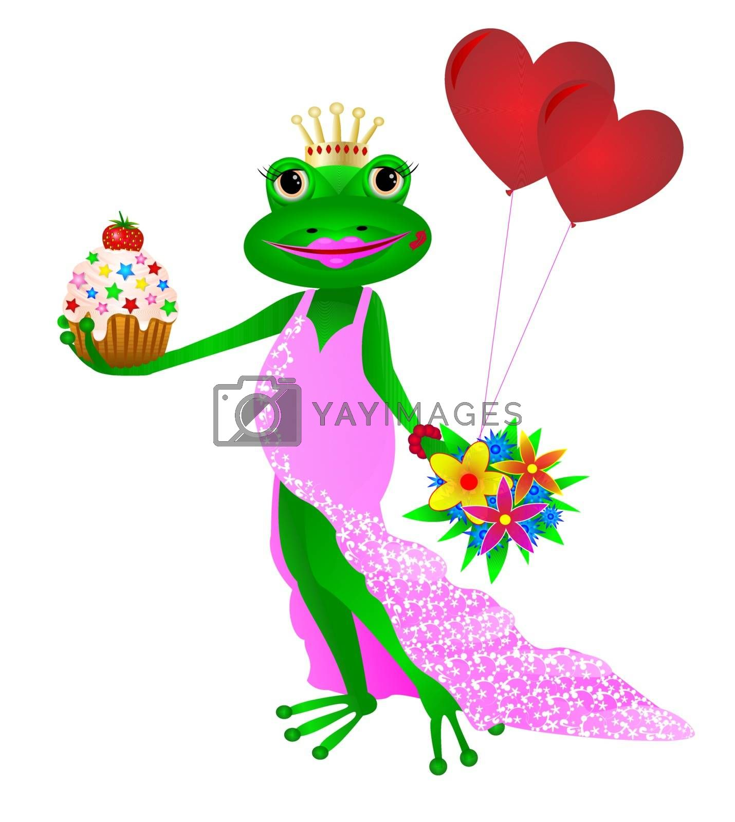 Happy Birthday frog. by liolle
